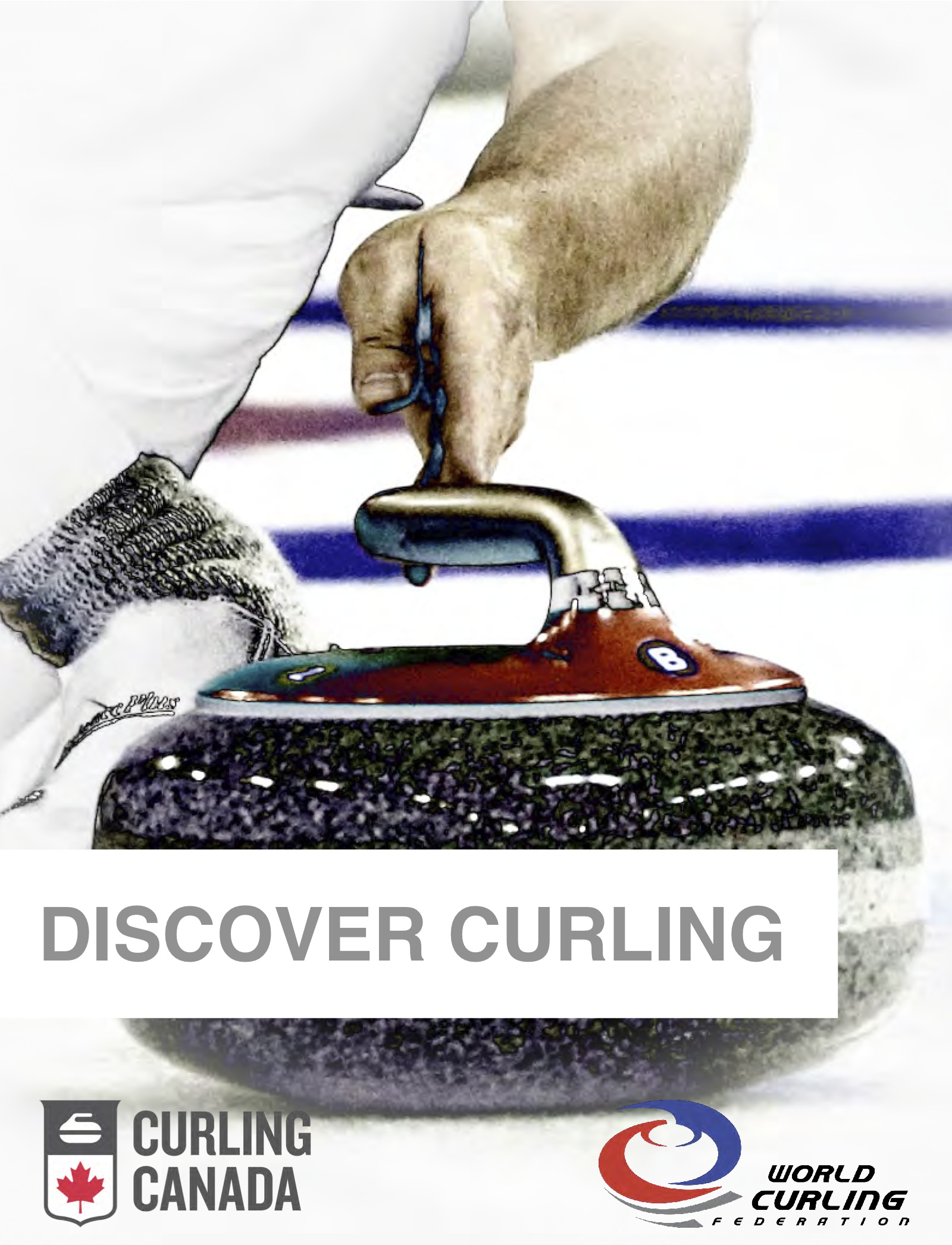Discover Curling Manual cover